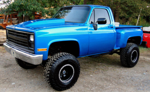 1984 Chevy 4x4 Truck New Paint Motor 6 Quot Suspension Lift