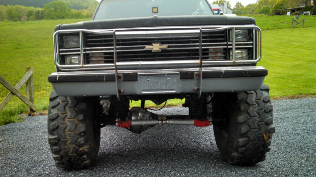 1984 chevy blazer mud truck for sale photos technical specifications description. Black Bedroom Furniture Sets. Home Design Ideas