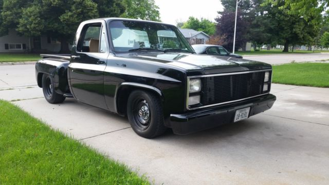 1984 chevy c10 step side 2wd for sale photos technical specifications description. Black Bedroom Furniture Sets. Home Design Ideas