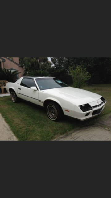 How Much To Rebuild A Transmission >> 1984 Chevy Camaro Berlinetta for sale: photos, technical specifications, description