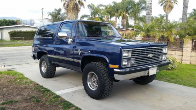 1984 Chevrolet Blazer 2 OWNER - CLEAN