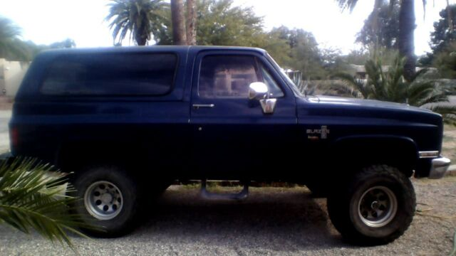 1984 Chevy K5 Blazer Custom Deluxe 62l Turbo Diesel For Sale
