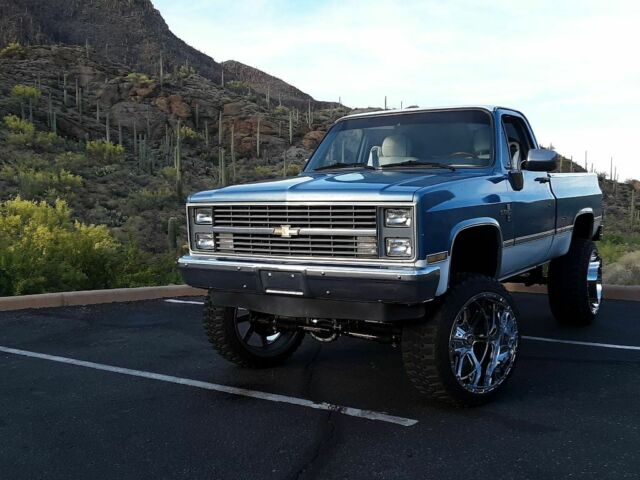 1984 chevy silverado truck for sale photos technical specifications description. Black Bedroom Furniture Sets. Home Design Ideas