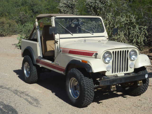 1984 CJ 7 Jeep for sale photos, technical specifications