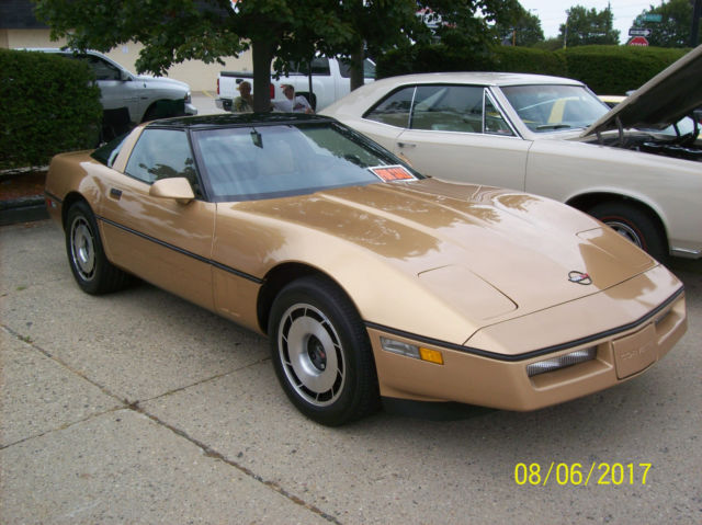 1984 Chevrolet Corvette leather