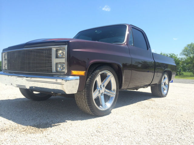 1984 custom chevy c10 silverado pick up truck for sale photos technical specifications. Black Bedroom Furniture Sets. Home Design Ideas