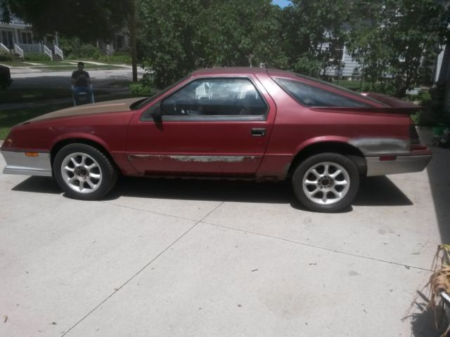 1984 Dodge Daytona Turbo Hatchback 2-Door