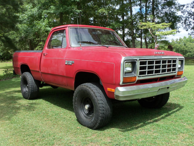 1984 Dodge Other Pickups W100