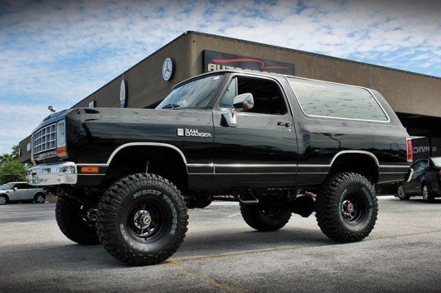 1984 Dodge Ram Charger AW-100 Black and Lifted RARE for sale: photos ...