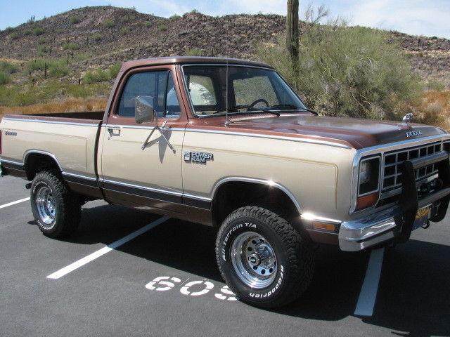 1984 Dodge Other Pickups 4x4 PROSPECTOR