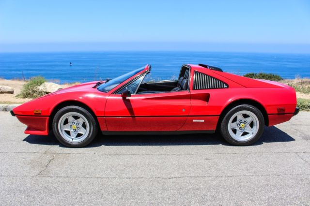 1984 Ferrari 308 Gts Quattrovalvole Euro Spec Federalized For Sale Photos Technical Specifications Description