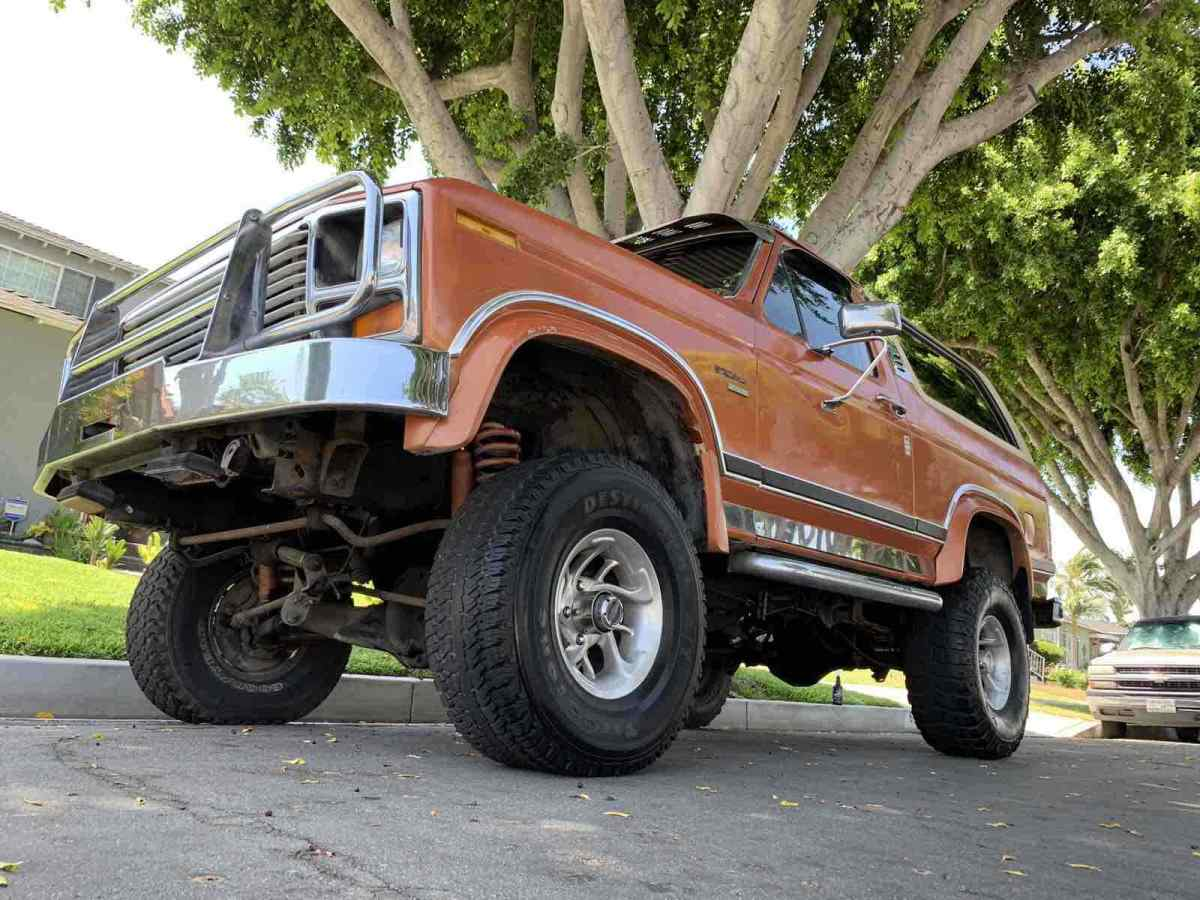 1984 Ford Bronco Ford Bronco ORIGINAL CA RUST FREE SUV Survivor