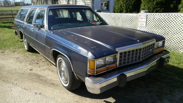 1984 Ford Crown Victoria