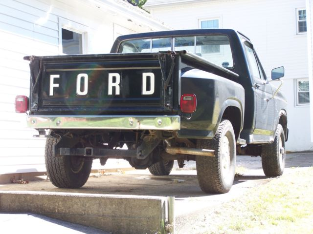 1984 ford f150 4x4 stepside for sale photos technical specifications description. Black Bedroom Furniture Sets. Home Design Ideas