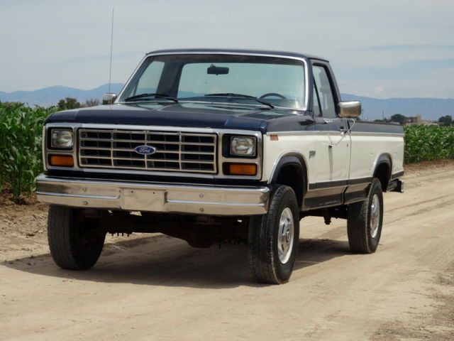 1984 ford f250 1 owner original low mileage 4x4 for sale photos technical specifications. Black Bedroom Furniture Sets. Home Design Ideas