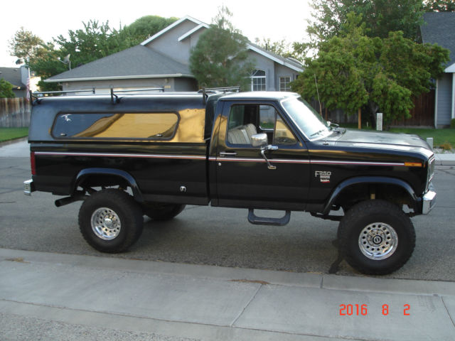 1984 ford f250 6 9l diesel with banks turbo 4x4 lifted for Ford used motors for sale