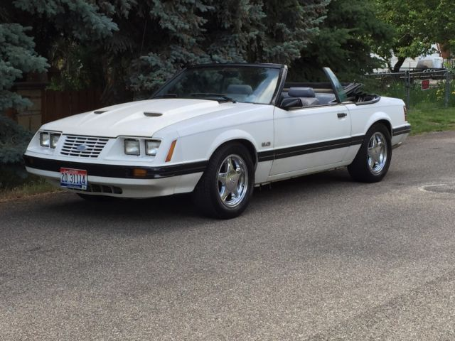 1984 Ford Mustang Lx Gt Convertible Original 1986 Mpfi Fuel Injection