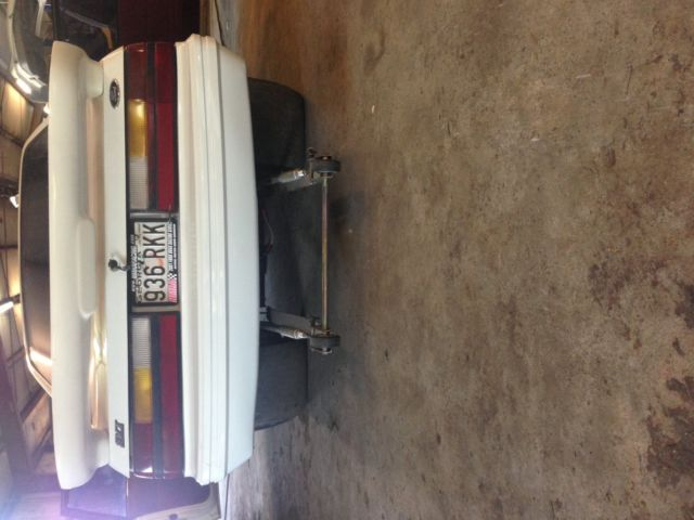 1984 ford mustang roller drag race big tire gt350 fox body