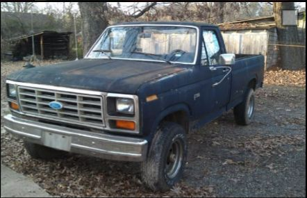 1984 Ford F 150 Manual - Owners Manual Book •