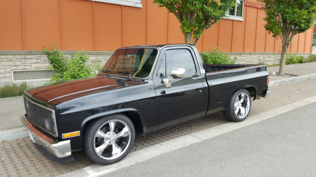 1984 gmc c15 pickup chevy c10 for sale photos technical specifications description. Black Bedroom Furniture Sets. Home Design Ideas