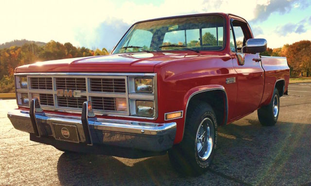 1984 gmc c1500 sierra classic short bed fleetside pickup completely restored for sale photos