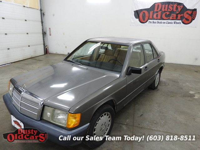1984 Mercedes-Benz 190-Series Runs Drives Body Interior VGood Needs TLC