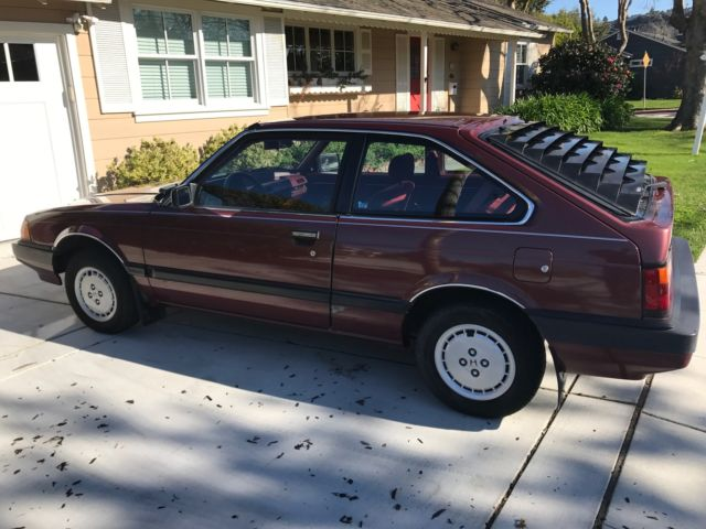 1984 honda accord lx, hatchback, low 24k.miles original, for sale: photos, technical ...
