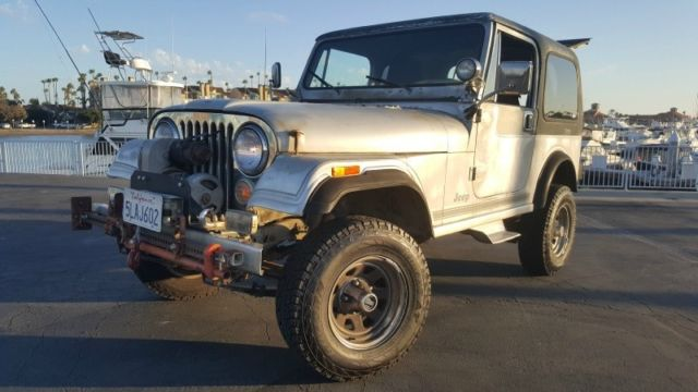 1984 Jeep CJ CJ7 Laredo FI Conversion Hard Top Doors Warn Wench