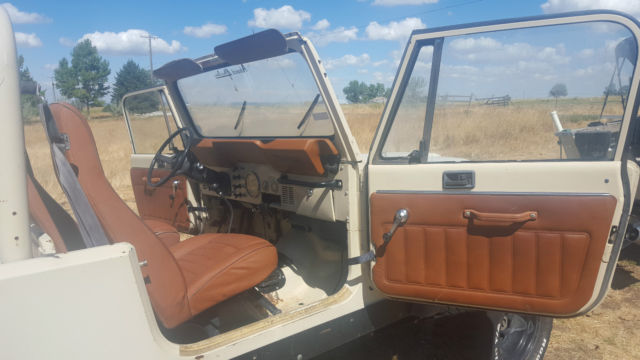 1984 Jeep Cj 8 Scrambler For Sale Photos Technical Specifications