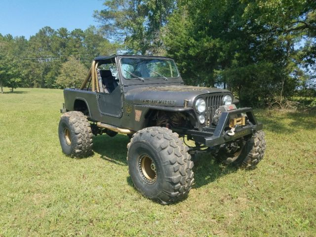 1984 Jeep CJ SCRAMBLER