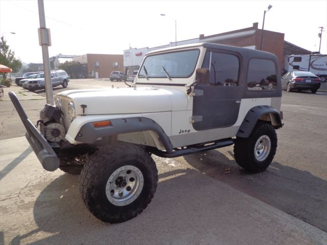 1984 Jeep CJ BASE