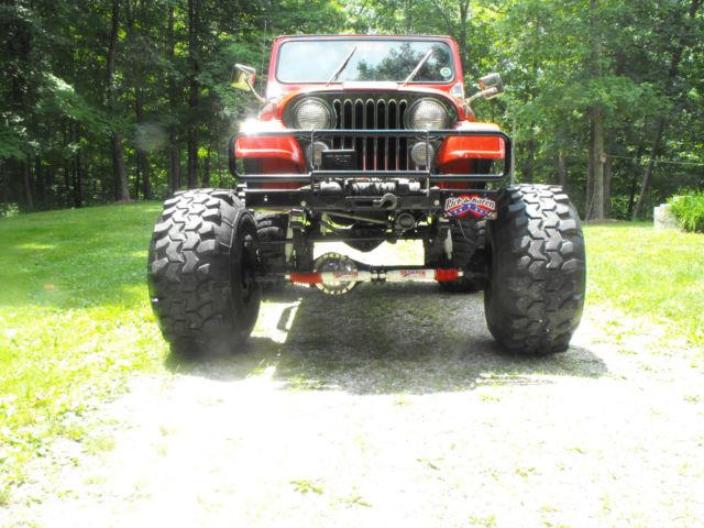 1984 jeep cj7 specs