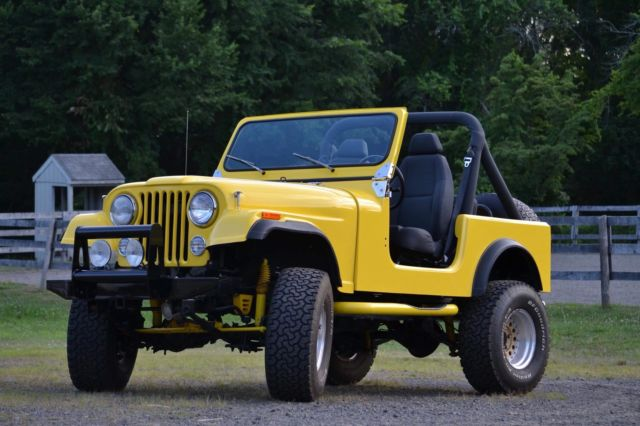 1984 Jeep CJ offroad