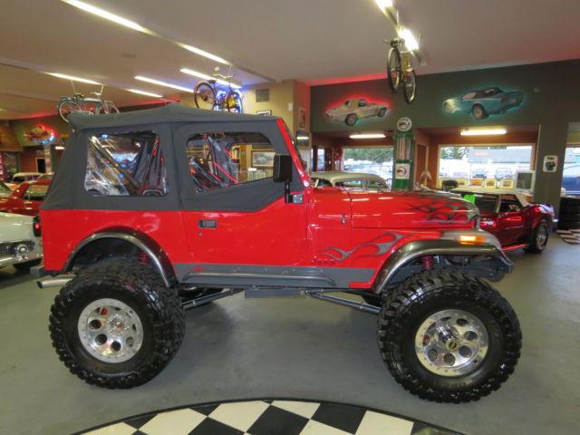 Jeep Wrangler Cj Show Custom Zz Vortec Hp Sbc