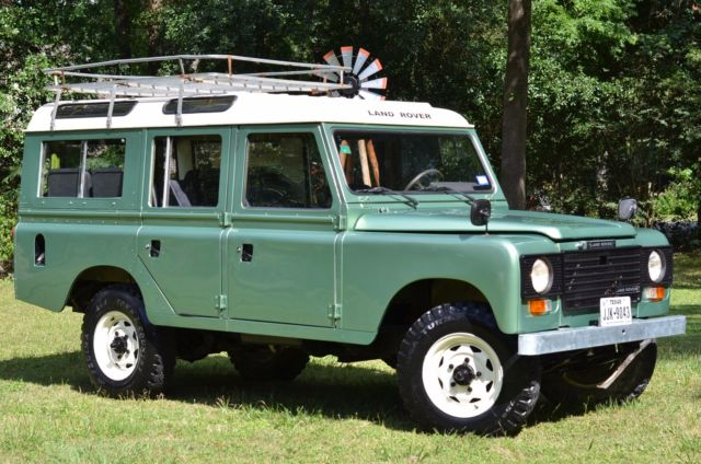 1984 Land Rover Defender 109