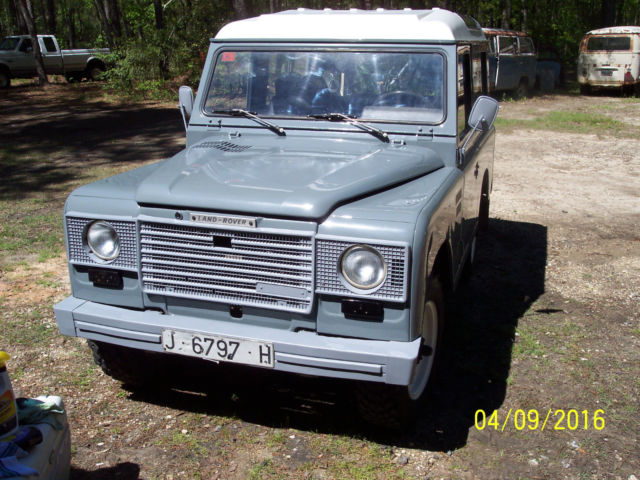 1984 land rover santana: for sale: photos, technical specifications