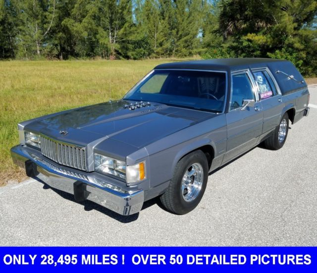 1984 Mercury Other HEARSE