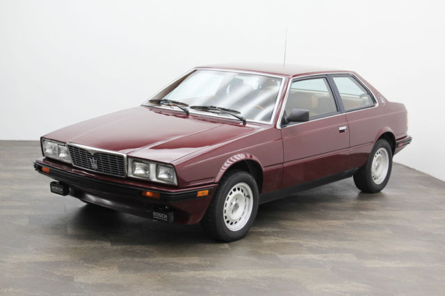 1984 Maserati Other Biturbo ~ ONE OWNER
