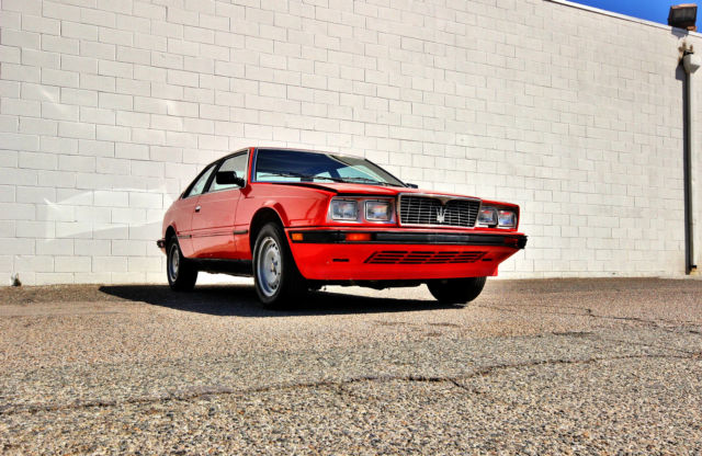 1984 Maserati Other ONE OWNER-42,683 MILES-RARE BARN FIND-NO RESERVE
