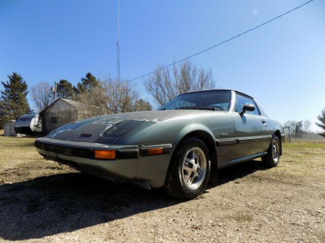 1984 MAZDA RX-7 GSL RX7 COMPLETE! PARTS OR RESTORE! CLEAR