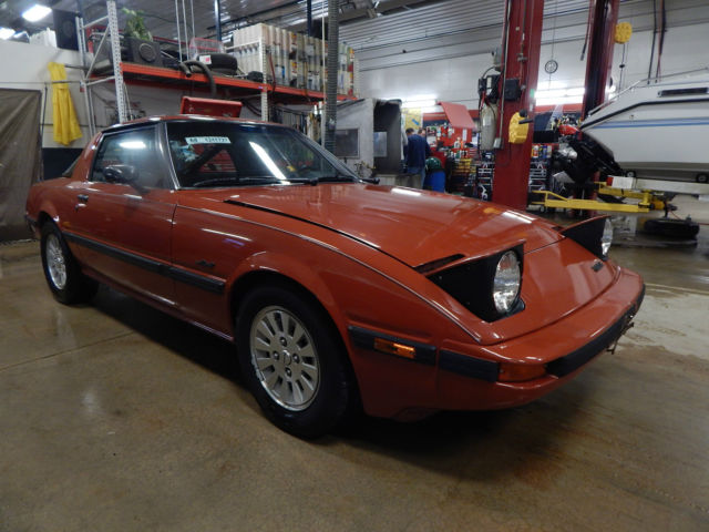 1984 Mazda RX7 GSLSE T1241727 for sale photos technical