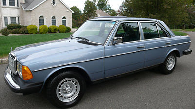 1984 Mercedes 300d Turbo Diesel Sedan Only 13 286 Original