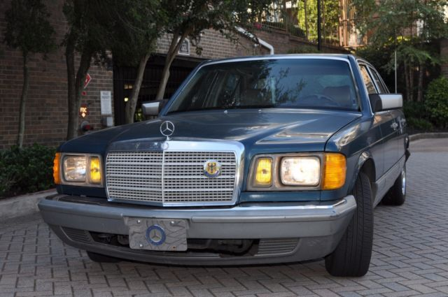 1984 Mercedes-Benz 300-Series SD Turbo Diesel