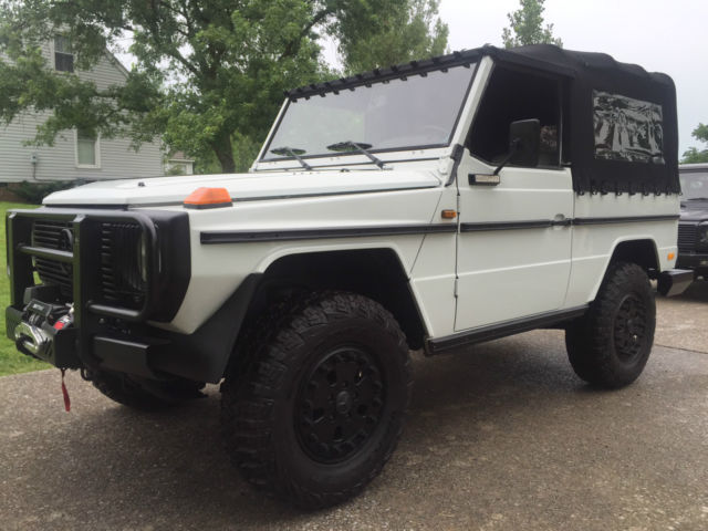 1984 mercedes benz 240gd g wagon convertible rare for Mercedes benz g class cabriolet for sale
