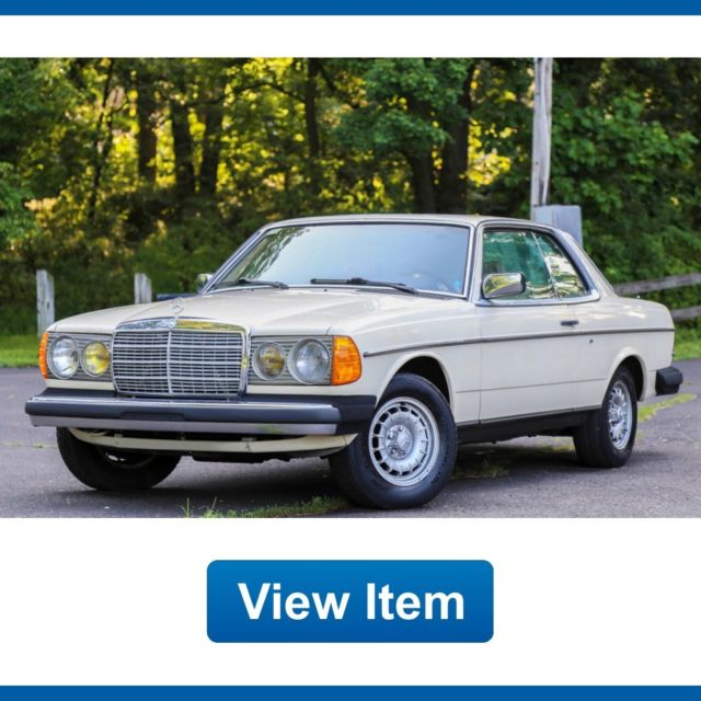 1984 Mercedes-Benz 300-Series Base Coupe 2-Door