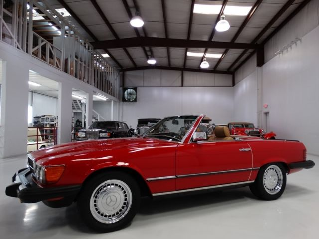 1984 Mercedes-Benz SL-Class 380SL ONLY 58,151 CAREFULLY DRIVEN MILES!