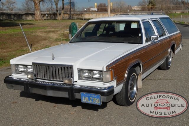 1984 Mercury Grand Marquis 4dr Wagon Co