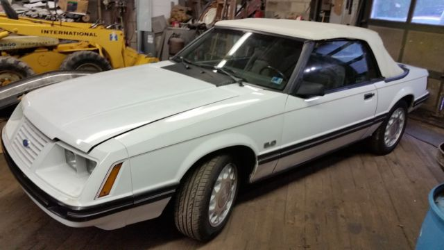 1984 Mustang Lx Convertible 5 0 A T