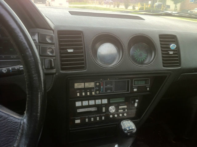 1984 Gray Nissan 300ZX Coupe with Black interior