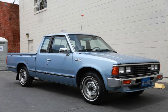 1984 Nissan Datsun 720 King Cab Pick-Up LOW MILES California Original for sale: photos ...